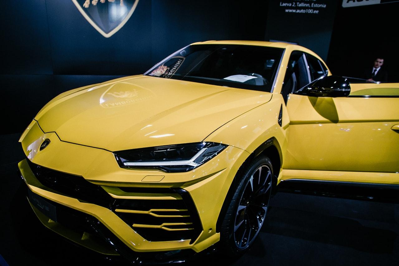 Olika modeller av bilar